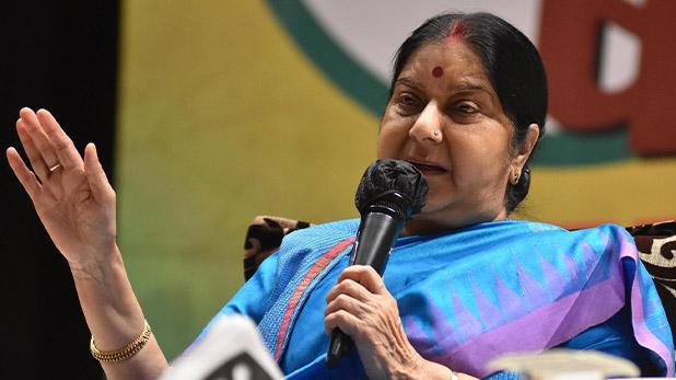 Sushma Swaraj, म्यूनिख में भारतीय दंपत्ति पर चाकू से हमला, सुषमा स्वराज ने की मदद, पढ़ें चौकीदारी पर आखिर क्या कहा?