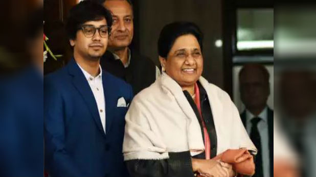 mayawati nephew akash anand, इस लड़के को राजनीति में लाने के लिए मायावती ने किया बड़ा ऐलान