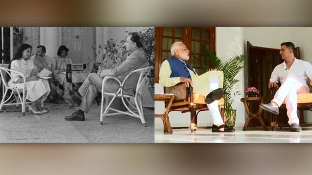 akshay kumar, 'मोदी ने अक्षय कुमार को इंटरव्यू दिया तो क्या हुआ, राजीव गांधी ने भी तो सिमी ग्रेवाल को दिया था'