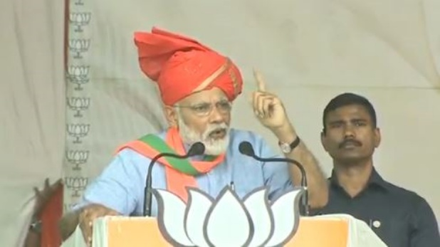 बीकानेर रैली, बातों ही बातों में पीएम मोदी ने सांप के साथ प्रियंका के वायरल हुए वीडियो पर ली चुटकी