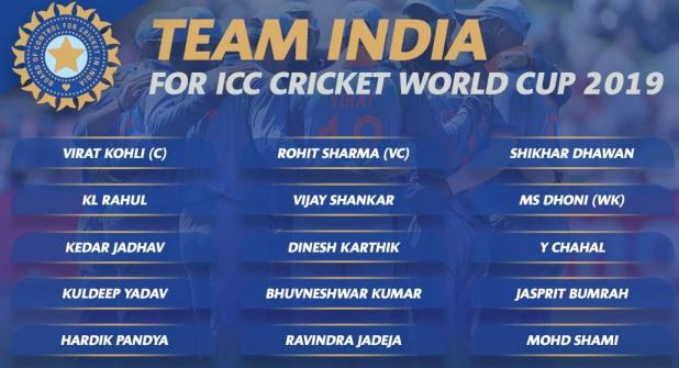 ICC Cricket World Cup, वर्ल्ड कप के लिए 15 नहीं 19 खिलाड़ी जाएंगे इंग्लैंड, BCCI ने किया चार और नामों का ऐलान