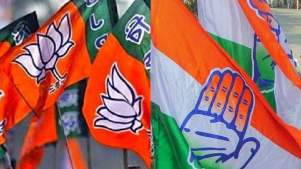 BJP CONGRESS WORKER, बीजेपी-कांग्रेस कार्यकर्ताओं में जमकर हुई पत्थरबाजी, सभा में नहीं पहुंचे सिद्धू