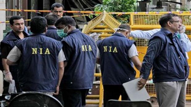 NIA-conducts-raid-again-in-Amroha, गुफरान की निशानदेही पर NIA की अमरोहा में फिर छापेमारी