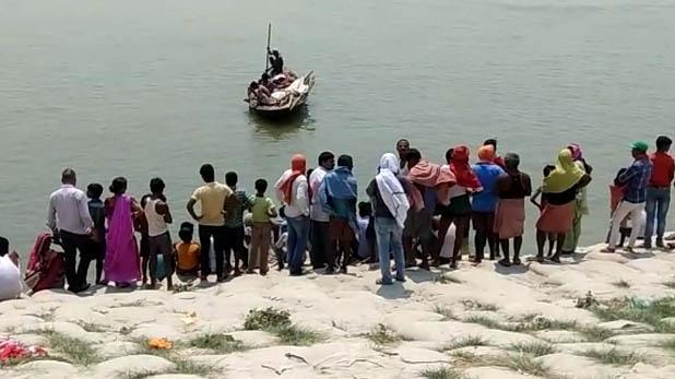 death-of-three, गंगा में डूबने से तीन बच्चों की मौत, पीपा पुल पर हुआ हादसा