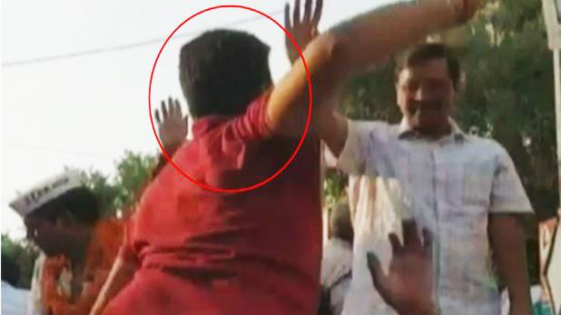 अरविंद केजरीवाल, जानें अरविंद केजरीवाल को थप्पड़ मारने वाला किस पार्टी का है सपोर्टर