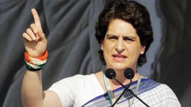Priyanka Gandhi, प्रियंका गांधी ने BJP पर अमेठी में ग्राम प्रधानों को 20 हजार रुपये रिश्वत देने का लगाया आरोप