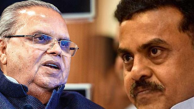 sanjay nirupam, हमारे देश के सारे गवर्नर होते हैं सरकार के चमचे, सत्यपाल मलिक भी वही- संजय निरुपम