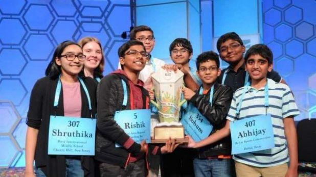 US National Spelling Bee, US नेशनल स्पेलिंग बी: भारत का एकाधिकार खत्म, अलबामा की छात्रा संग 7 भारतीयों ने जीता खिताब