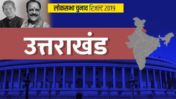 loksabha election 2019, उत्तराखंड लोकसभा Result 2019: बीजेपी ने दोहराया इतिहास, किया क्लीन स्वीप