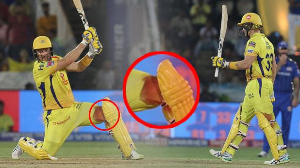 शेन वाटसन, IPL फाइनल में घुटने से खून बहता रहा, फिर भी बैटिंग करते रहे वॉटसन