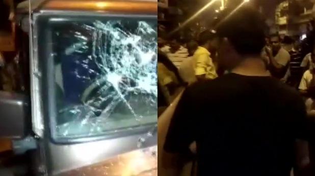 lok sabha election 2019, पश्चिम बंगाल में BJP प्रत्याशी के काफिले पर हमला, PM मोदी की रैली से लौटते वक्त बनाया निशाना