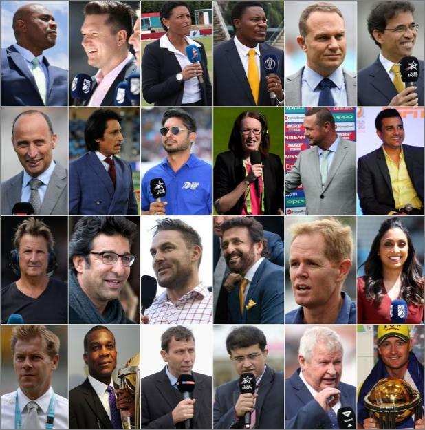 वर्ल्ड कप, ICC ने जारी की World Cup कमेंटेटरों की लिस्ट, तीन भारतीयों को मिली जगह