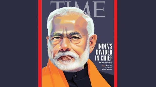Narendra Modi, TIME के कवर पेज पर PM मोदी, मैगजीन ने बताया 'डिवाइडर इन चीफ'
