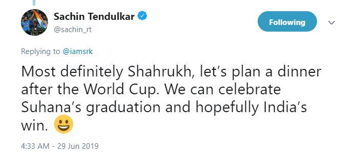 sachin sahrukh, क्रिकेट के 'भगवान' ने दी बॉलीवुड के 'बादशाह' को ये नसीहत