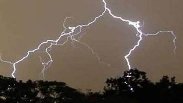 Rajasthan News, राजस्थान के झालावाड़ में आकाशीय बिजली गिरने से 4 की मौत