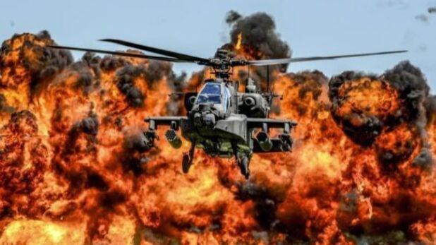 हेलीकॉप्टर, खबरदार हो जाओ दुश्मनों, दांत खट्टे करने के लिए आ गया है अपाचे