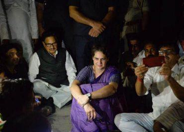 priyanka gandhi, कांग्रेस का आरोप- प्रियंका गांधी के गेस्ट हाउस पहुंचते ही काट दी बिजली