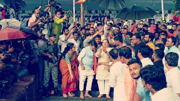 Tarpan, Tarpan West Bengal, Tarpan News, Tarpan BJP, Tarpan BJP Workers, JP Nadda, JP Nadda West Bengal