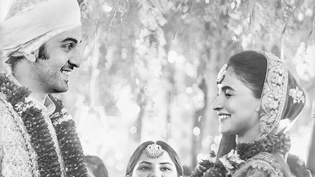 Ranbir Alia Marriage Photo, शादी के बंधन में बंधे आलिया और रणबीर! सोशल मीडिया पर वायरल हुई फोटो