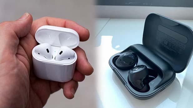 Apple AirPods Echo Buds, अमेजन के VP बात कर रहे थे 'ईको बड्स' की, कान में लगा रखे थे एप्पल एयरपॉड्स