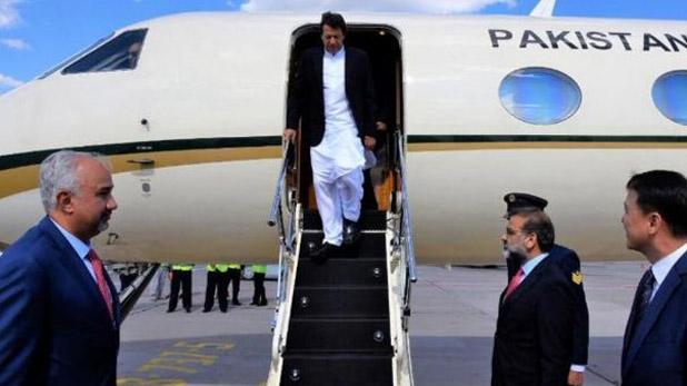 इमरान, पाकिस्तान लौटते ही इमरान ने रागा कश्मीर अलाप, स्वागत करने के लिए नेताओं ने लोगों से की अपील
