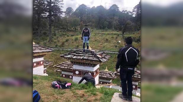 Bhutan Indian Arrest, बौद्ध स्तूप पर फोटो खिंचा रहा था भारतीय, भूटान सरकार ने लिया हिरासत में, अब ऐसे हो रहा ट्रोल