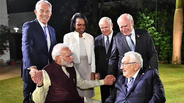 मोदी, पीएम मोदी ने 2 पूर्व प्रधानमंत्री और 3 अमेरिकी सेक्रेटरीज से की मुलाकात