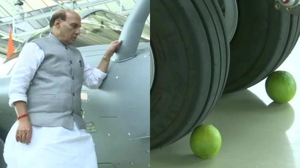 नारियल, ॐ, नींबू और राफेल, राफेल पर ॐ को ड्रामा बताने वाले INS अरिहंत पर नारियल फोड़ा करते थे