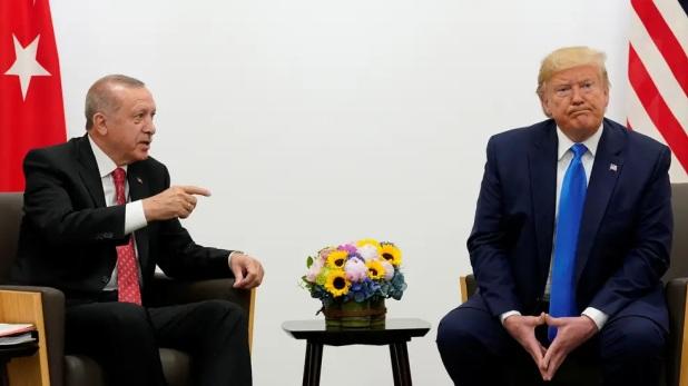 तुर्की, तुर्की के राष्ट्रपति ने डस्टबिन में फेंक दी थी ट्रंप की चिट्ठी, अब सीरिया में हमले रोकने को तैयार