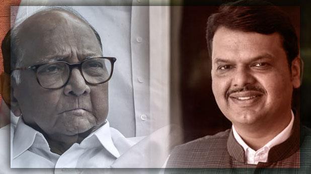 Will Run Full Term says Sharad Pawar, शरद पवार ने देवेंद्र फडणवीस की ली चुटकी, कहा- 'मुझे नहीं पता था वह ज्योतिष भी जानते हैं'