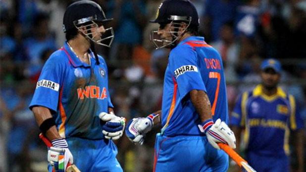 Gautam Gambhir on MS Dhoni, विश्व कप में 3 रन पर बवाल, धोनी पर 'गंभीर' सवाल