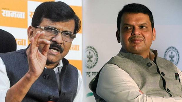 sanjay raut devendra fadnavis, 'हमें न सिखाएं स्वाभिमान, बालासाहेब को किया वादा पूरा होगा', फडणवीस के ट्वीट पर राउत की दो टूक
