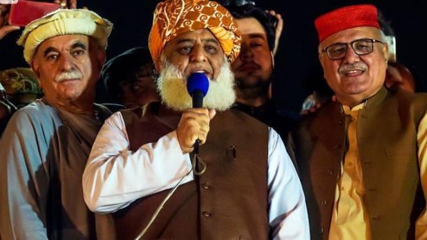 Maulana Fazlur Rehman, धरना समाप्त, प्लान बी पर अमल शुरू; मौलाना फजल बोले- गिरती दीवार को एक धक्का और