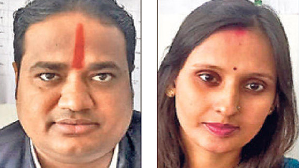 jharkhand elections husband and wife, झारखंड: एक ही सीट से पति-पत्नी लड़ रहे विधानसभा चुनाव, साथ-साथ मांग रहे वोट