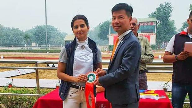 shweta hooda won gold medal, हुड्डा परिवार की बहू ने रचा इतिहास, बनीं घुड़सवारी में गोल्ड मेडल जीतने वाली पहली भारतीय महिला