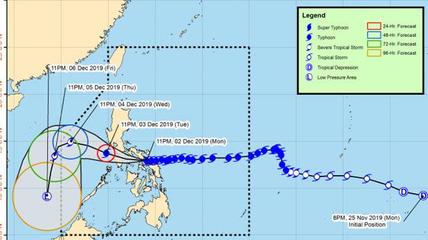 Typhoon Kammuri in Philippines, फिलीपींस में चक्रवात कम्मुरी से 17 की मौत, हजारों को छोड़ना पड़ा घर