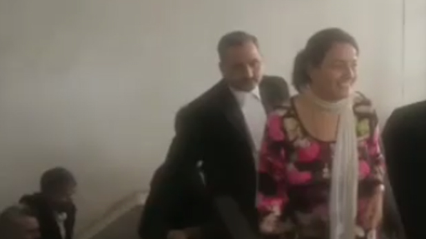 Honeypreet Panchkula court, बदली-बदली सी नजर आई हनीप्रीत, जेल में राम रहीम से मुलाकात का असर?