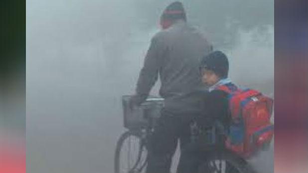 delhi ncr temperature fog low visibility, दिल्ली में पारा 8 डिग्री तक लुढ़का, कोहरे और लो विजिबिलिटी से लेट हुईं 22 ट्रेन-30 फ्लाइट्स