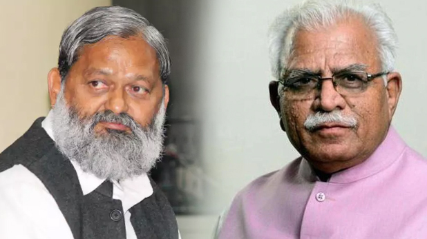 Manohar Lal Khattar and Anil Vij, हरियाणा : CID का बॉस कौन? CM और मंत्री के बीच कंफ्यूजन
