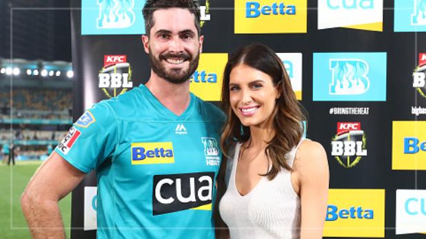 Ben Cutting gets a warning from wife Erin Holland, BBL : क्रिकेटर को बीवी ने लाइव टीवी पर दी वार्निंग- ठीक से खेलना… नहीं तो आज घर मत आना