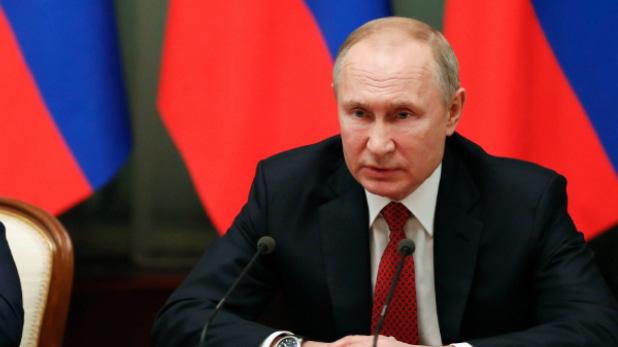 vladimir putin declare emergency, रूस के राष्ट्रपति पुतिन ने लगाई स्टेट इमरजेंसी, साइबेरिया के पॉवर प्लांट से 20 हजार टन डीजल लीक