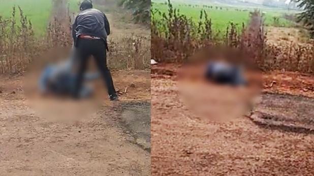 madhya pradesh video viral, मध्य प्रदेश: युवक की पिटाई का वीडियो सोशल मीडिया पर वायरल, पुलिस ने दर्ज किया केस