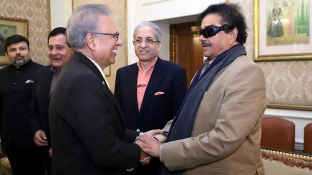 Shatrughan Sinha met, शत्रुघ्न सिन्हा ने पाकिस्तान के राष्ट्रपति से की मुलाकात, ट्टीट के बाद गहराया मसला