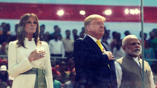 Donald Trump India Visit Live, ट्रंप-मोदी की बेमिसाल दोस्ती का गवाह बना अहमदाबाद, US बोला- We Love INDIA…