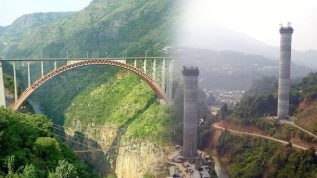 Jiribam-Tupul-Imphal railway line, क़ुतुब मीनार से दोगुने ऊंचे पुल पर दौड़ेगी ट्रेन, 2021 तक बन जाएगी जिरीबाम-तुपुल-इंफाल रेलवे लाइन