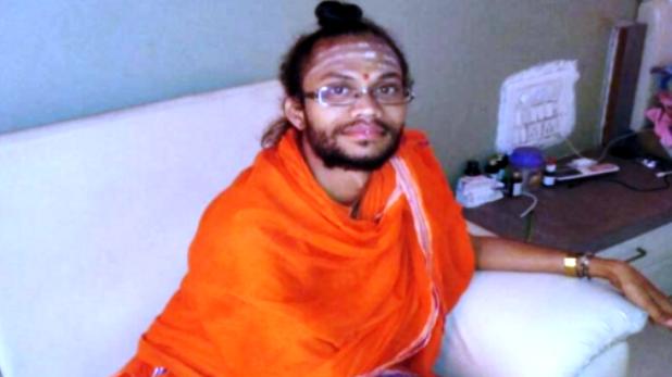 monk murdered in Maharashtra, नांदेड़ में मठ के अंदर सो रहे साधु की हत्या का आरोपी गिरफ्तार