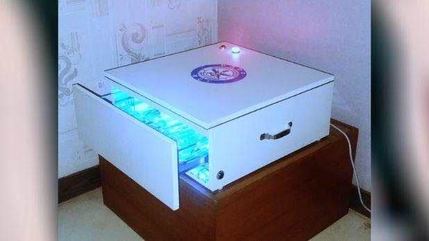 UV based cabinet, हैदराबाद : DRDO ने डेवलप किया यूवी बेस्ड कैबिनेट, इलेक्ट्रॉनिक गैजेट्स को करेगा सैनिटाइज