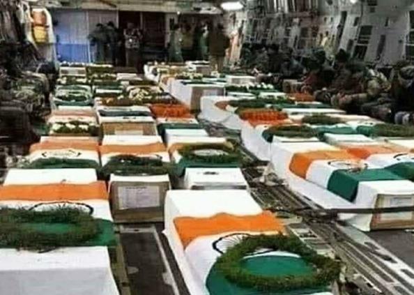 indian soldiers martyrs on galwan valley, PHOTOS: कहीं बहादुरी से किया पापा को विदा, तो कहीं आंखें थी नम, यूं दी शहीदों को अंतिम विदाई