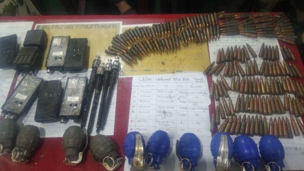 Kupwara police arrested over ground militant, जम्मू कश्मीर: कुपवाड़ा में हथियारों की खेप के साथ पकड़ा गया आतंकियों का मददगार