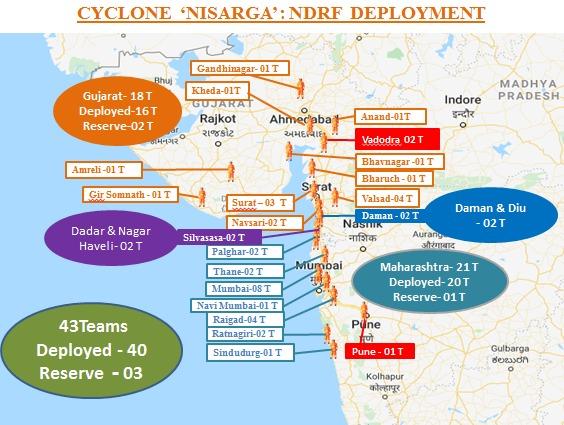 nisarga live tracking, Cyclone Nisarga: अगले 6 घंटों में बन सकता है गंभीर चक्रवाती तूफान, पढ़ें पिछले 24 घंटों के सभी अपडेट्स